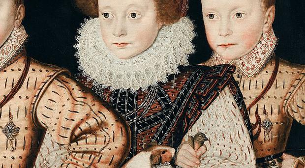 Painting by an unknown artist which may contain the first portrait of a guinea pig