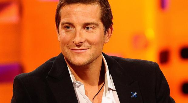 A slide built on a cliff at the island home of Bear Grylls is the subject of a council probe.