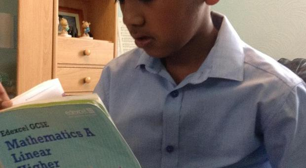 Nine-year-old Abhinav Santhiramohan, from Luton, was awarded an A* in maths after taking his GCSE exam seven years early
