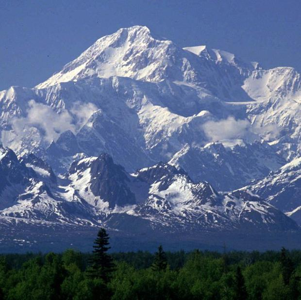 Mount McKinley - North America's tallest peak - is actually shorter than previously thought (AP)