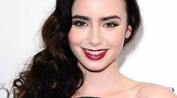McAfee has ranked Lily Collins as the most dangerous celebrity to search for online