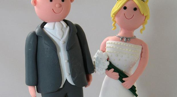 A man cut off his testicles before going into a church where a wedding was about to take place