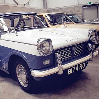 The Triumph Herald is expected to fetch thousands at auction