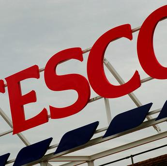 Tesco has withdrawn an inflatable figure labelled