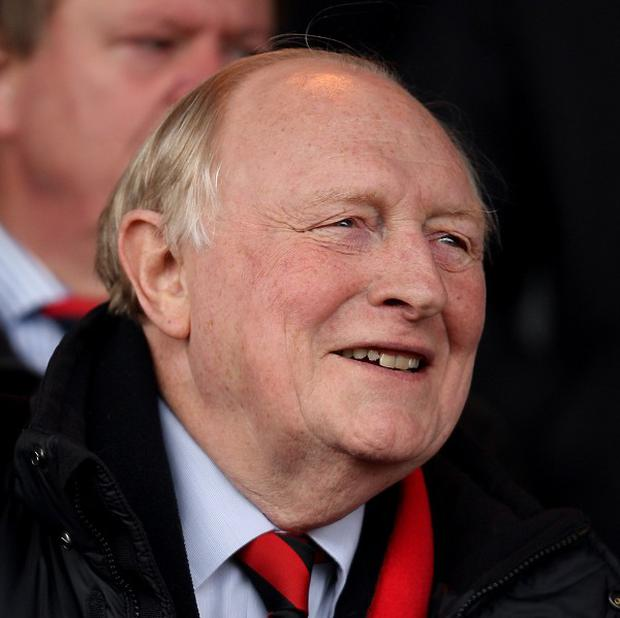Neil Kinnock was ejected from his seat because of his wild celebrations as Cardiff City beat Fulham at Craven Cottage