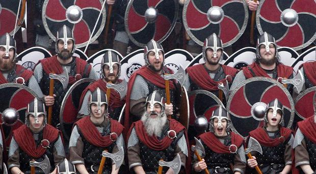 A car containing swords, axes, helmets and chainmail armour used for Viking re-enactment has been stolen