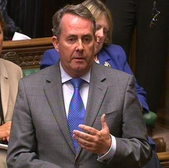 Conservative MP Liam Fox made an expenses claim after travelling 0.06 miles, or approximately 96.5 metres