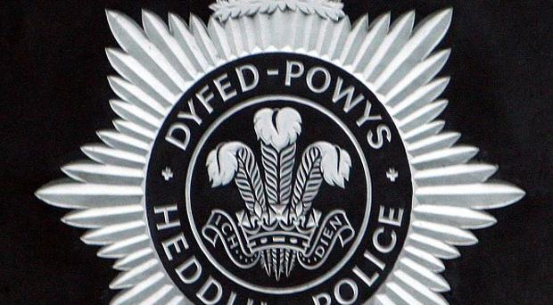 Dyfed Powys Police said the novelty 'labyrinth' will be kept locked at night in future