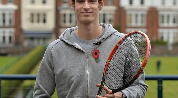 Tennis star Andy Murray was at the centre of a