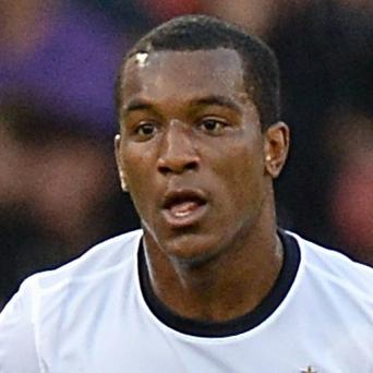 Andre Wisdom got his luxury car stuck in a mud track on the way to a match