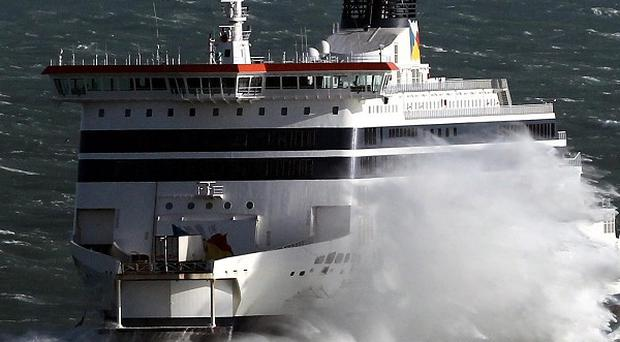 P&O said it would transport Kevin Chenais across the English Channel on its Spirit of Britain vessel after Eurostar said he posed a safety risk