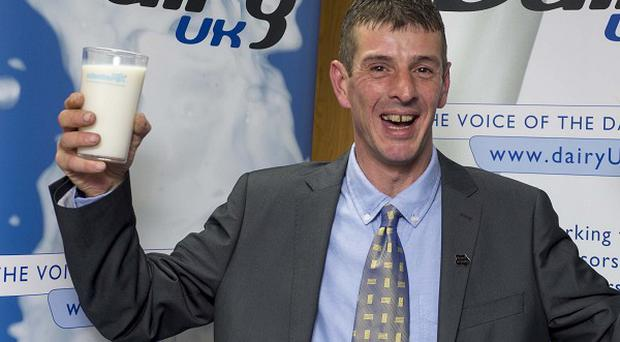 Kevin Dyer has been crowned Milkman of the Year.