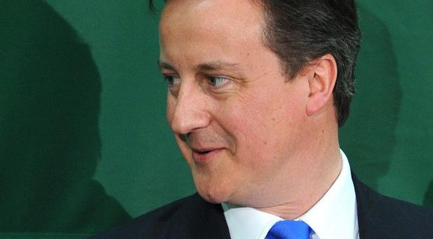 David Cameron commended politicians in the Commons who were sporting growths on their upper lips of all colours and sizes