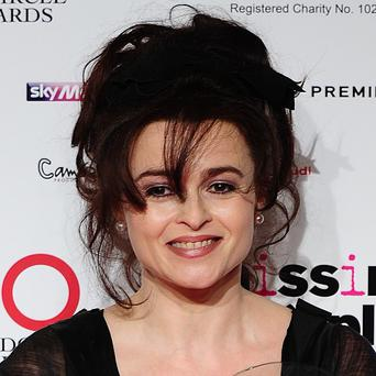 A radioactive waste pipe is being removed from Helena Bonham Carter's Oxfordshire garden