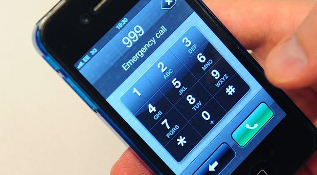 Police have warned the public to use 999 sensibly