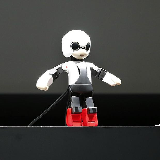 Kirobo, the first humanoid robot in space (AP)
