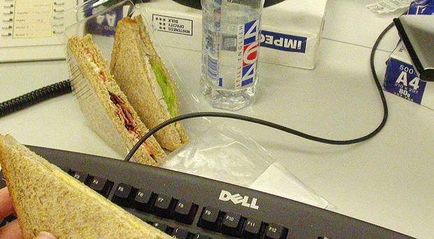 One in three adults spends more than £100 a month on drinks, snacks and lunches, a new survey has found