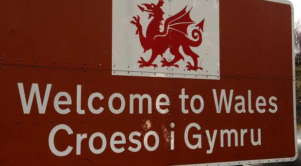 Many road signs in Wales show place names in both Welsh and English