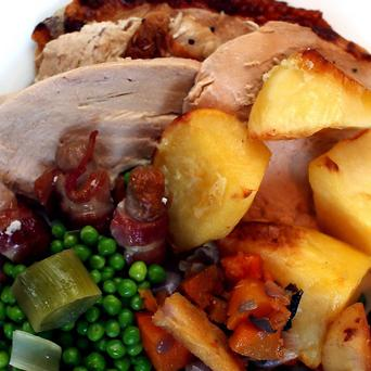 Electrician Andy Park is still celebrating Christmas, and does so all year round with a turkey dinner each day