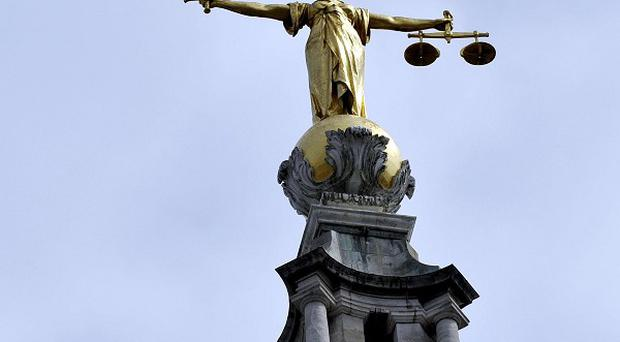 A lawyers' strike left an Old Bailey courtroom feeling 'lonely', according to the trial judge