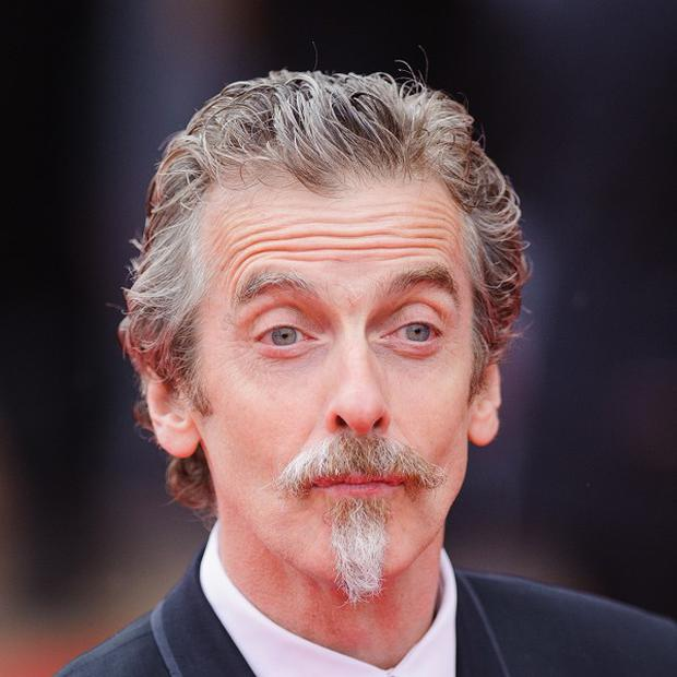Peter Capaldi injured his thumb while wrestling with a frock in The Musketeers.