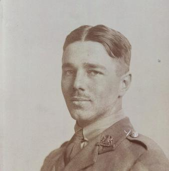 Wilfred Owen met Siegfried Sassoon at the Craiglockhart military hospital