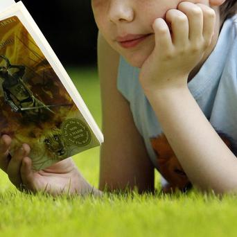 The report found children are encouraged to read by seeing the characters in other media