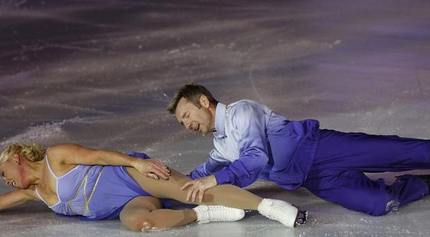 Jayne Torvil and Christopher Dean recently performed their Bolero routine again in Bosnia (AP)