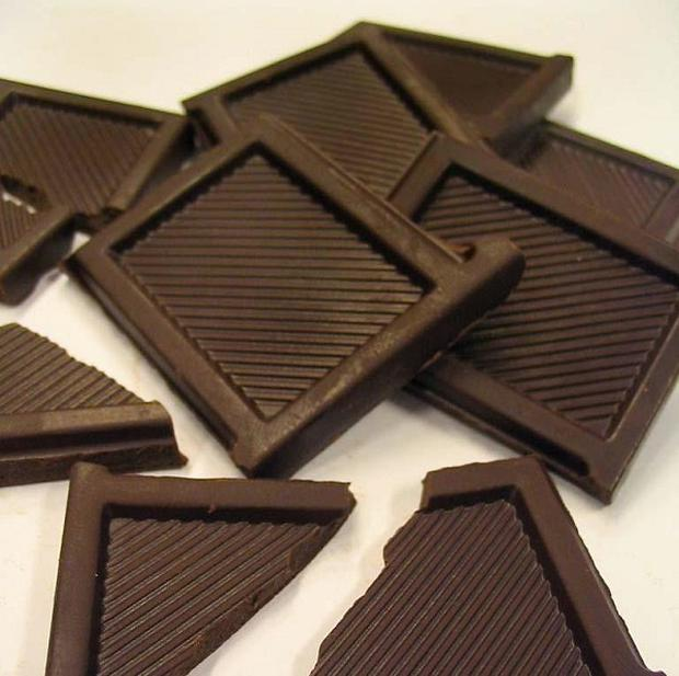 Eating dark chocolate helps to protect the heart and arteries from damage