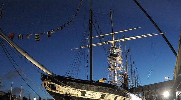 Visitors to SS Great Britain in Bristol are invited to Go Aloft and climb the rigging