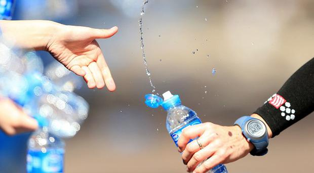 The organisers had cited a 'problem with the delivery of water'