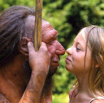 New evidence suggests Homo sapiens and Neanderthals got together much more recently (Neanderthal Museum/PA)