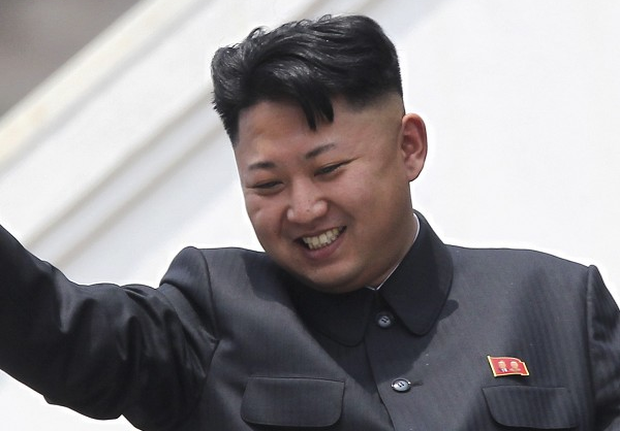 Kim Jong Un's haircut is all the rage in North Korea. (AP)