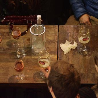 People wrongly believe wine is a healthier alcoholic drink than beer, according to a study for Camra (Yui Mok/PA Wire)