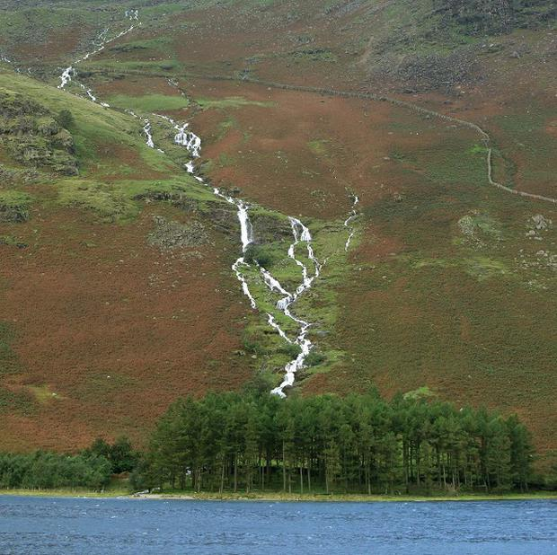 A general view of the Lake District, as it was revealed a local mountain has been put up for sale