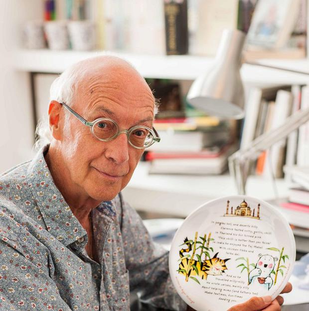 Roger McGough's poetry will appear all over Waitrose supermarkets