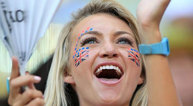 New figures suggest Britons are on average happier than most people in the rest of Europe