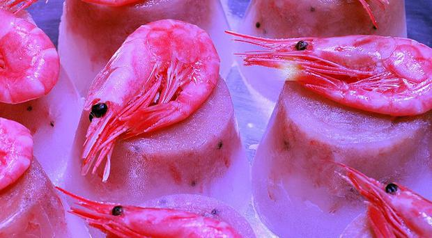 The trailer full of prawns was stolen from a fish processing site in Peterhead on Sunday evening