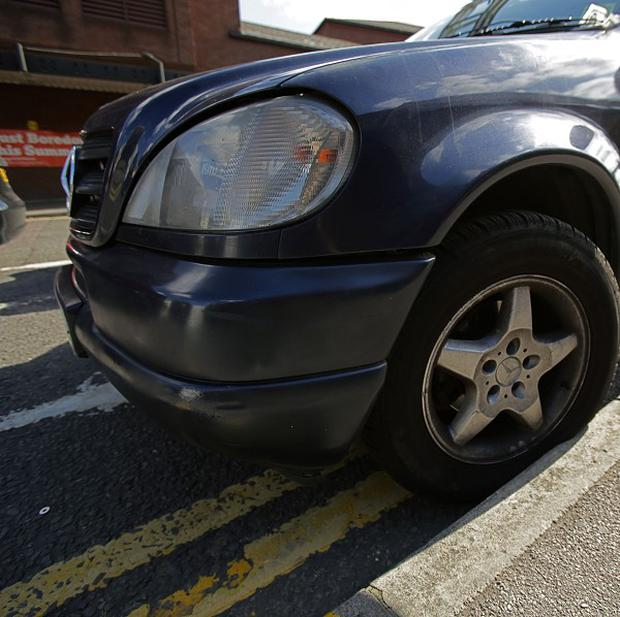 A charity worker received a 70 pound fine after parking her car outside a school for seven seconds