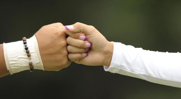 Bumping fists was the cleanest greeting gesture, according to a study