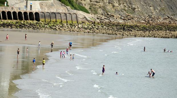 Gold has been hidden under the sands of Folkestone beach