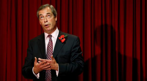 Ukip leader Nigel Farage has criticised a satirical app called Ukik