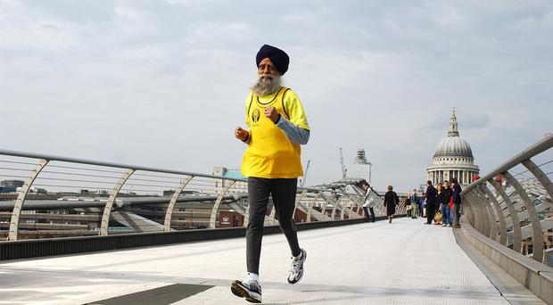 Fauja Singh has been honoured in the new year list