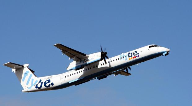 Flybe, which flies to 16 destinations from Belfast