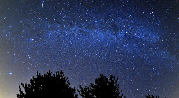 The Perseids meteor shower occurs yearly between July 17 and August 24