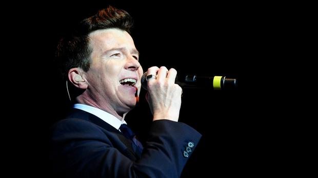 Rick Astley's Never Gonna To Give You Up was a hit in the 1980s