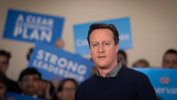 The picture of David Cameron was removed from the Facebook page