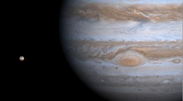 Researchers measured radio emissions from Jupiter