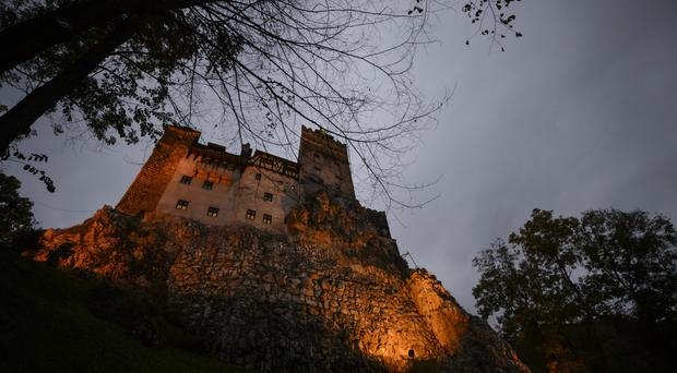 Bran Castle in Romania, popularly known as Dracula's castle because of its connection to Vlad the Impaler, who inspired the Dracula legend (AP)