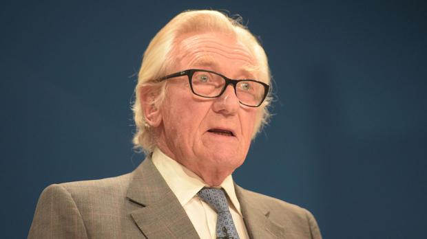 Lord Heseltine has also claimed to have shot dead 350 grey squirrels in six months